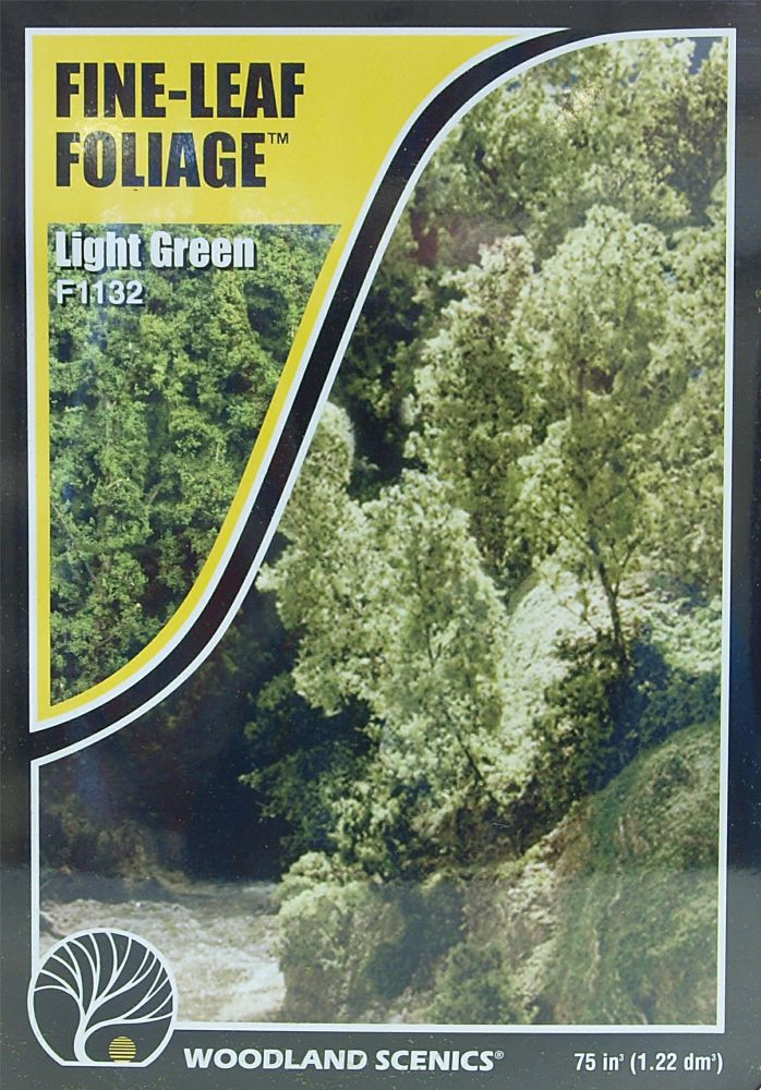Woodland Scenics F1132  Fine-Leaf Foliage (Light Green)