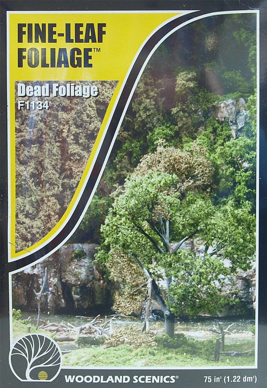 Woodland Scenics F1134  Fine-Leaf Foliage (Dead Foliage)