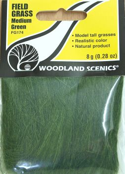 Woodland Scenics FG174  Field grass  (Medium green)