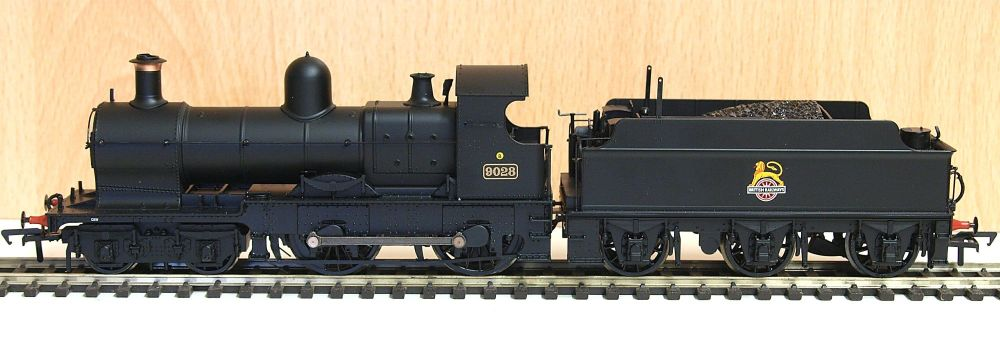 Bachmann 31088   3200 (Earl) Class 9028 BR Black Early Emblem