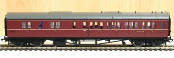 Hornby R4764   BR Collett Corridor Brake 3rd (RH) Coach