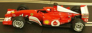 "Carrera 25706  Evolution Ferrari F2002 No1 V10 ""Michael Schumacher"" 1:32"