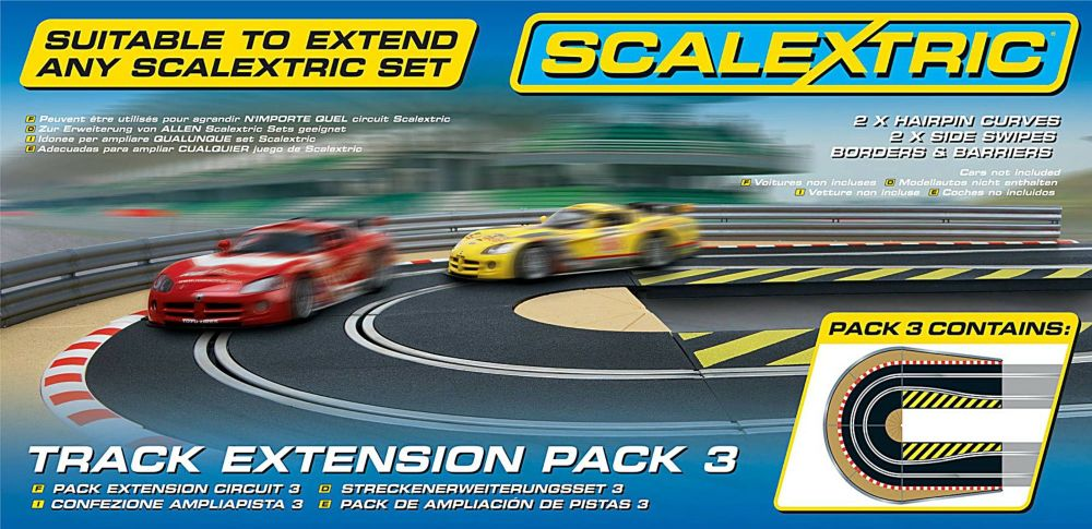 Scalextric C8512  Track Extension Pack-3