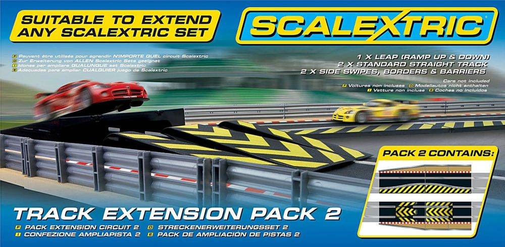 Scalextric C8511  Track Extension Pack-2