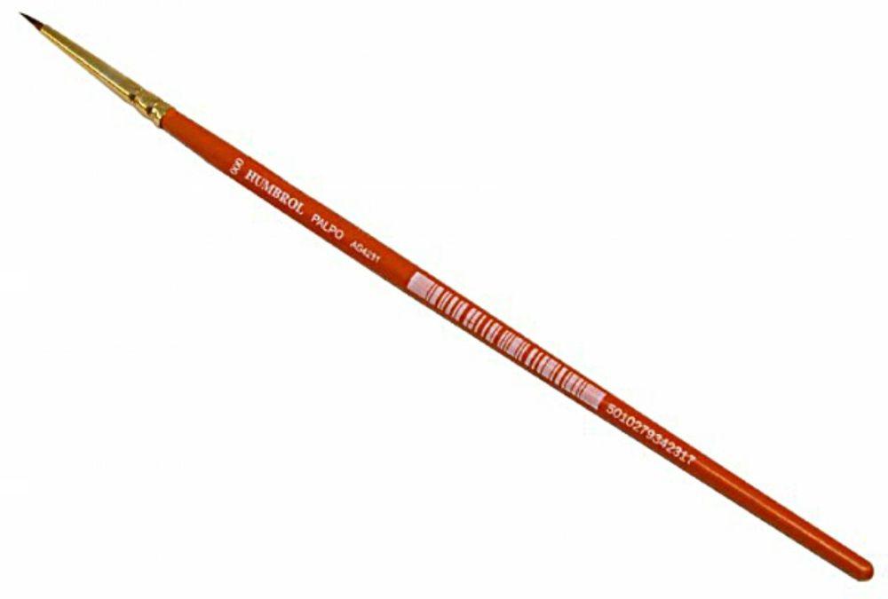 Humbrol AG4231  Palpo Brush - Size 000