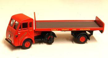 Classix EM76505  Jen-Tug - Head & tailboard trailer 'Corona Soft Drinks'
