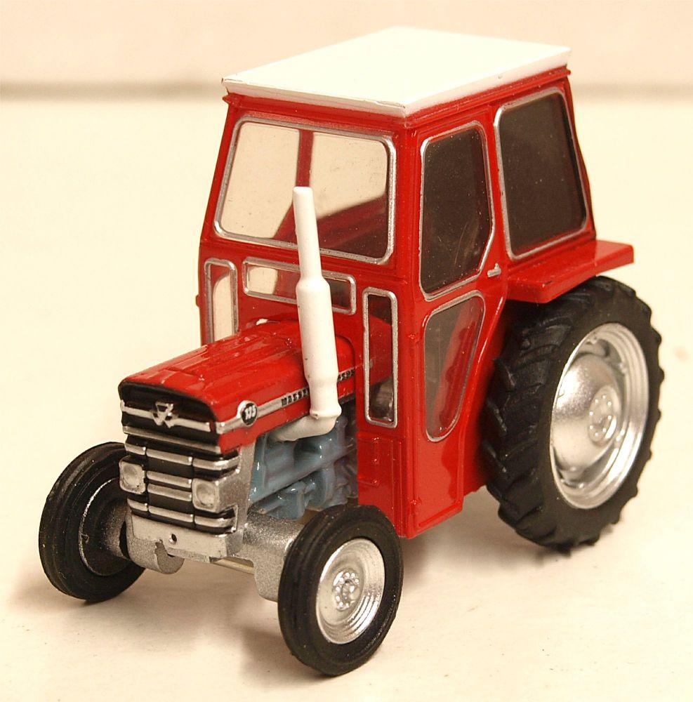 Oxford Diecast 76MF001  Massey Ferguson 135 red