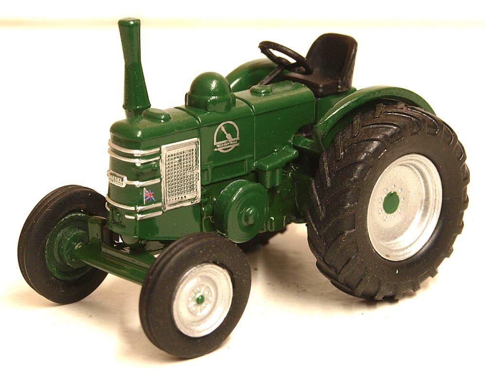 Oxford Diecast 76FMT001  Field Marshall Tractor Marshall Green