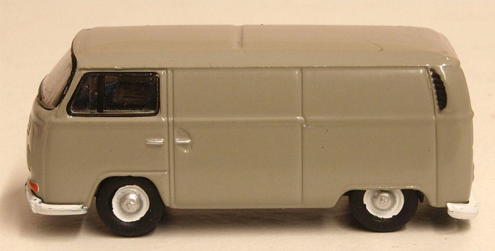 Oxford Diecast 76VW026  VW Bay Window Van Light Grey