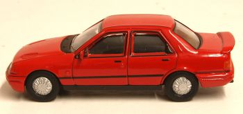 Oxford Diecast 76FS003  Ford Sierra Sapphire RS Radiant Red