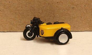 Oxford Diecast NBSA001  Motorbike/Sidecar AA