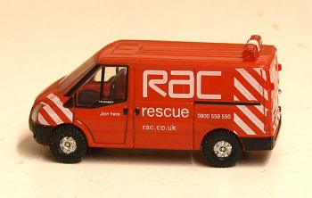 Oxford Diecast NFT003  Ford Transit SWB Low Roof RAC