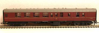 Hornby R4785  BR Mk1 Coach Corridor Brake 2nd Class Maroon