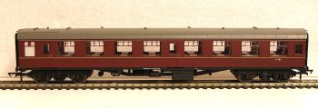 Hornby R4786  BR Mk1 2nd Open coach Maroon (No Crest)