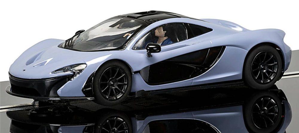 Scalextric C3877  McLaren P1™ (Ceramic Grey)