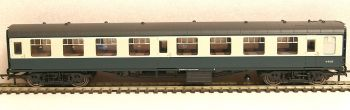 Hornby R4776  BR Mk1 Tourist 2nd Open coach blue grey