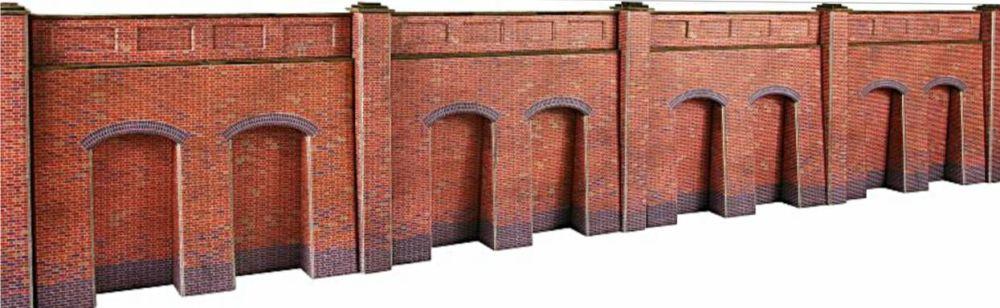 Metcalfe PO244  Brick retaining wall