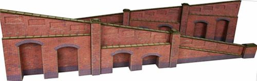 Metcalfe PN148   Brick Tapered Retaining Walls