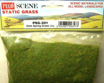 Peco Scene PSG201  2mm Static Spring grass 30gm