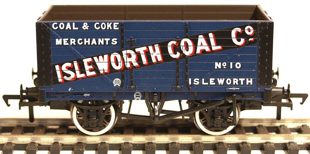 Bachmann 37160  8 Plank wagon 'Isleworth Coal Company'