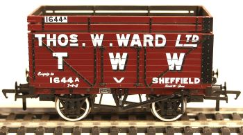 "Bachmann 37207  8 plank wagon with coke rail ""Thomas W Ward"" Sheffield"