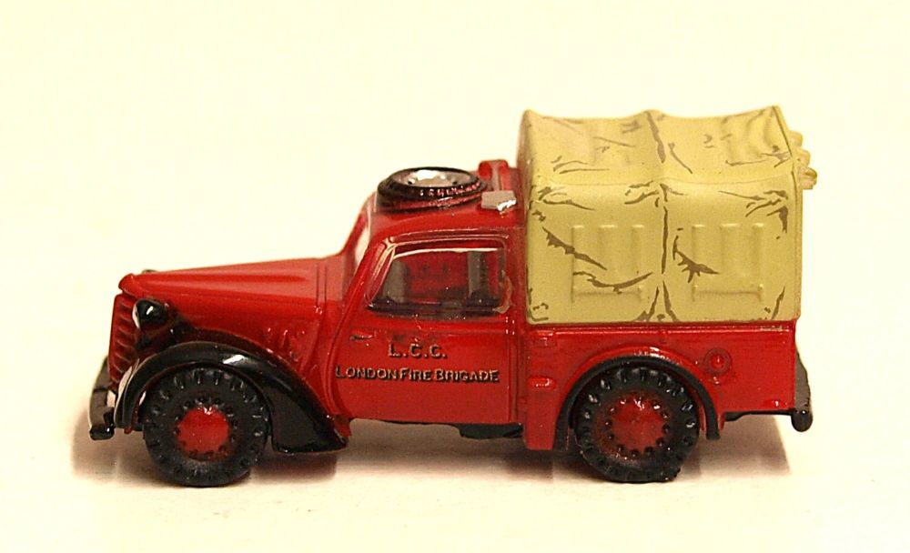 Oxford Diecast NTIL005  Austin Tilly London Fire Brigade - 1:148