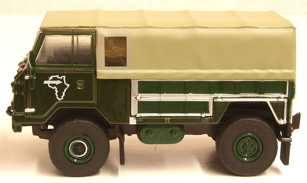 Oxford Diecast 76LRFCG001  Land Rover FC GS 1974 Trans Sahara Expedition