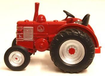 Oxford Diecast 76FMT003  Field Marshall Tractor Marshall Red
