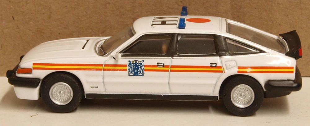 Oxford Diecast 76SDV002  Rover SD1 3500 Vitesse Police