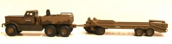 Oxford Diecast 76DT002  Diamond T980 Tank Transporter 1st Canadian Armoured Brigade - Italy