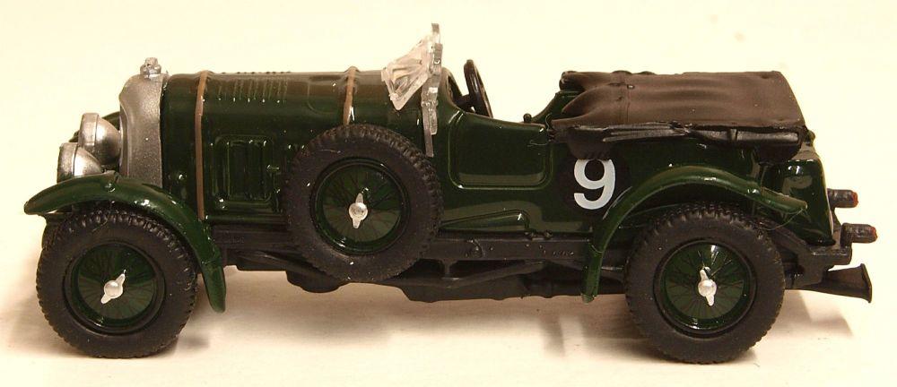 Oxford Diecast 76BB001  Blower Bentley Le Mans 1930 No.9 Birkin/Chassagne