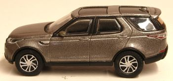 Oxford Diecast 76DIS5001  Land Rover New Discovery 5 HSE LUX Silver