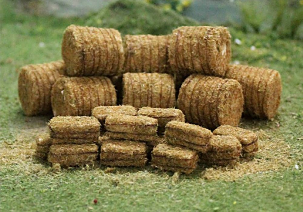 Tasma 00378   Straw Bales (10 round / 20 rectangle)