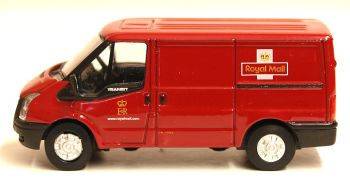 Oxford Diecast 76FT002  Royal Mail New Ford Transit Van (L.Roof) - 1:76 Scale