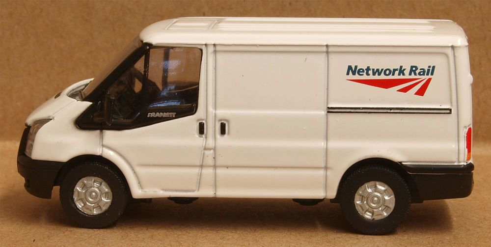 Oxford Diecast 76FT023   Ford Transit SWB Low Roof Network Rail