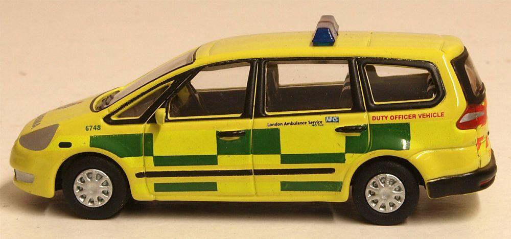Oxford Diecast 76FG002  Ford Galaxy London Ambulance Service