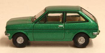 Oxford Diecast 76FF005  Ford Fiesta Mk1 Jade Green