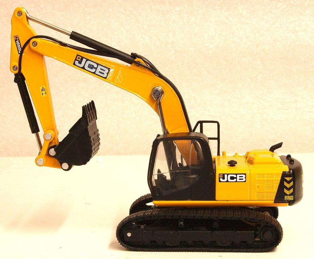 Oxford Diecast 76JS001  JCB JS220 Tracked Excavator JCB