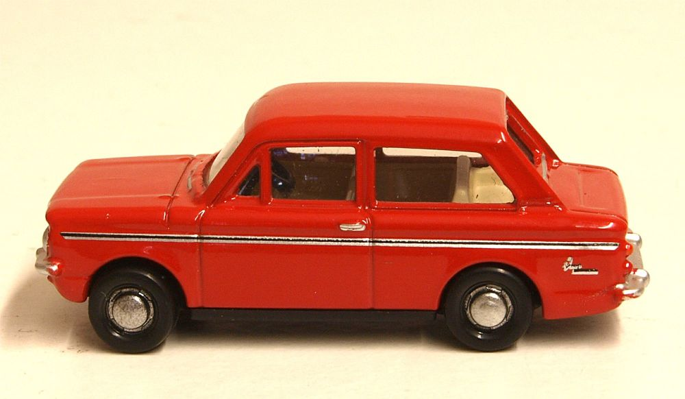 Oxford Diecast 76HI003  Hillman Imp Firebrand Red