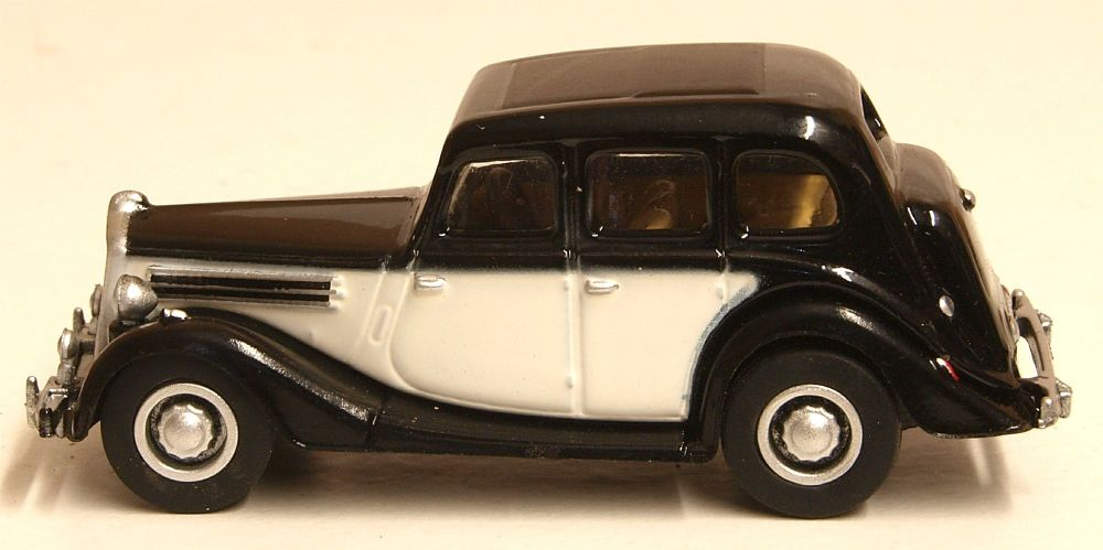 Oxford Diecast 76WO005  Wolseley 18/85 Black/Ivory