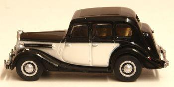 Oxford Diecast 76WO005  Wolseley 18/85 Black/Ivory