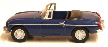 Oxford Diecast 76MGB008  MGB Roadster Mineral Blue