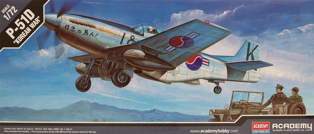 Academy 12496  F-51D Mustang