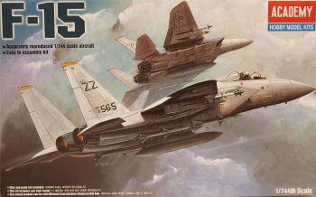 Academy 12609  F-15C Eagle