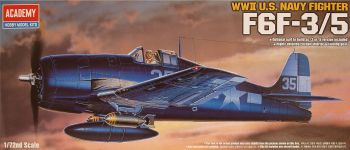 Academy 12481  F6F-3/5 Hellcat
