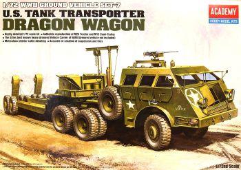 Academy 13409-SP  M25 Transporter Dragon Wagon 1:72