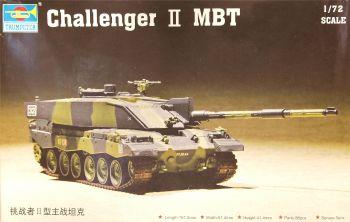Trumpeter 07214  Challenger 2 MBT