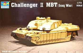 Trumpeter 07215  Challenger 2 MBT (Iraq War)