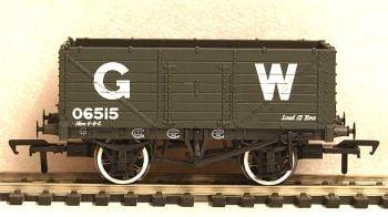 Bachmann 37-087  7 Plank End Door Wagon GW grey