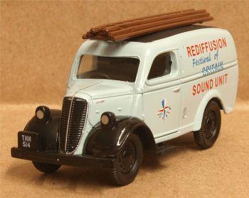 """Classix EM76654  Ford E83 Thames van """"Festival of Britain"""""""